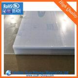 Hoja de 1 mm de PVC, plástico duro Hoja transparente, rígido Hoja de PVC transparente para el láser de grabado