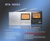 Calendario y reloj radio (RTA-9600-S)