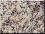 Azulejo de suelo oxidado del material de construcción del granito de la piel hermosa del tigre
