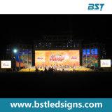 Alto schermo di visualizzazione dell'interno del LED dell'affitto di colore completo di Brightenss P6.25mm