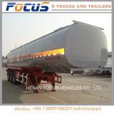 50cbm 3 격실 액체 연료유 석유 유조 트럭 세미트레일러