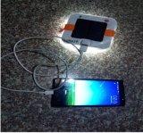 A Luz Solar inflável retângulo com carregador de telemóvel