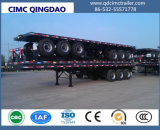 Cimc 40FT 2/3 Semi Aanhangwagen van de Container van de As Flatbed