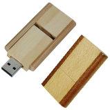 Древесина поворотный диск USB (KH W014)