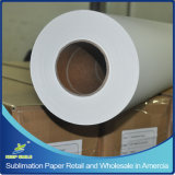 "小売りのHighquality 44 "" Wide、328 ' Long、アメリカの3 "" Coreの100GSM TackyかSticky Sublimation Transfer Paper"