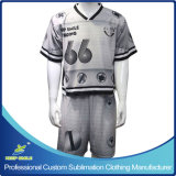 GameジャージーおよびGame ShortのカスタムSublimation Lacrosse Suit