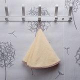 Faible prix du coton serviette ronde pour main