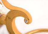 Ottone dell'anello di tovagliolo degli accessori della stanza da bagno di disegno classico ed in lega di zinco fissati al muro