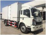 Sinotruk HOWO Van Truck/de Vrachtwagen van de Doos