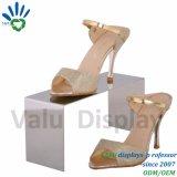 Soporte de visualización de oro de los zapatos de las señoras de Rose del nuevo polaco del estilo