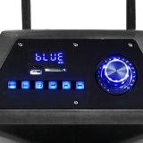 Altavoz de la batería recargable de 12 pulgadas con los micrófonos de la radio del USB Bluetooth