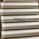 井戸の鋭いオアシスの工場のためのウェッジワイヤーステンレス鋼スクリーンVワイヤー管