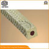 En fibre aramide adiabatique l'emballage utilisé pour la protection incendie dans les tuyaux et autres endroits.