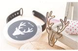 8pcs por caja de la cabeza de ciervo Clips clip de papel de Clip de dibujos animados