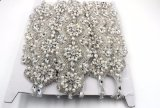 Il fornitore della Cina progetta i Appliques per il cliente nuziali del Rhinestone del vestito da cerimonia nuziale