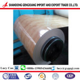 PPGI trempés à chaud en acier galvanisé prélaqué en bobine avec motif en bois