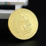 Подгоняйте монетки медали сувенира золота Майкл Джексон 3D с пластичной коробкой (JIABO-1017)