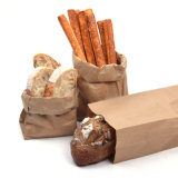 Favores de partido grandes de la porción del regalo del bolso del arte de las bolsas de papel de Kraft pequeños Wedding el caramelo