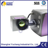 Impresora láser de CO2 se utiliza para imprimir códigos de barras en las tuberías