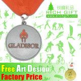 Promoção Medalha de esmalte macio e metal epóxi como presentes de lembrança