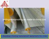 Ровный Pre-Applied Self-Adhesive HDPE делая водостотьким (Non-асфальт)