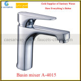 Mezclador del lavabo de la palanca del lavabo del cromo solo (A-3715)