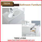허영 Combo Type와 Include 없음 Countertop Solid Wood Bathroom Vanity