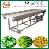 La nourriture en PVC de la machine de transfert de convoyeur à courroie en acier inoxydable