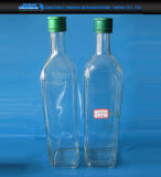 produtos vidreiros da cozinha 750ml para o óleo, armazenamento do molho