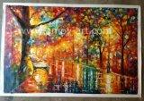 La reproduction de l'huile Afremov peintures pour la décoration d'accueil