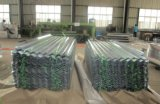 0.13-0.8mm JIS G3302 Sgch Hoja de techos de metal corrugado en bobinas de Gi