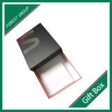 Caixa de presente de papel com logotipo dourado de prata em China