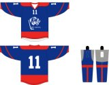Vêtements de sport respirant Healong personnalisé impression en sublimation maillot de hockey