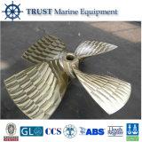 Hélice marina del barco de la pesca de la alta calidad para el envío