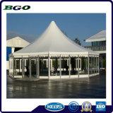 건축재료 PVC에 의하여 입히는 방수포 덮개 차양 (1000dx1000d 20X20 670g)