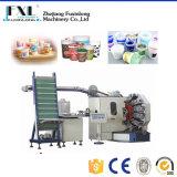 Fjl-6b 6 색깔 기계장치를 인쇄하는 플라스틱 묵 컵