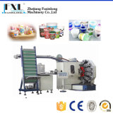 Fjl-6b Six-Color taza de gelatina de plástico maquinaria de imprenta