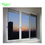 Белого цвета с двойными стеклами UPVC окна