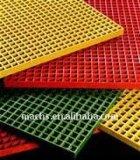 Grating quadrado/retangular moldado FRP com de grande resistência