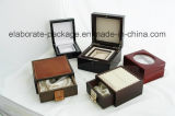 El mejor rectángulo de madera noble delicado de Jewellry de la caja de embalaje de la calidad