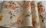 方法深く浮彫りにされた花3DのNon-Wovenの壁紙