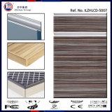 Les UV haute brillance du grain du bois MDF porte armoire de cuisine