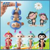 Juguetes interactivos del mono del bebé del mono de los pececillos