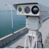 三スペクトルの機密保護の監視熱レンズPTZイメージ投射カメラ