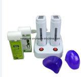 Máquina depilatoria doble del calentador de la parafina para el salón de belleza y el BALNEARIO