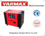 il motore di 6.5kVA 192f ha alimentato il generatore diesel silenzioso raffreddato aria