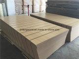 15mm Epaisseur Couleur blanche Mélamine Slatwal / Slot Mdfl Panel (7 emplacements complets)