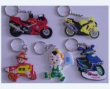 Key Accessory、Rubber Key Chain (GZHY-KA-060)のカスタムKey Ring