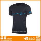 T-shirt en polyester à sec rapide pour hommes