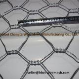電流を通された六角形の網のGabionボックスバスケット